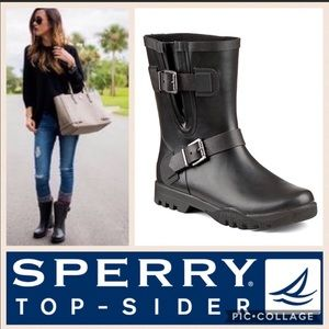New Sperry Topsider Nellie Lou Black